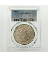 1885-O $1 Silver Morgan Dollar Graded by PCGS as MS-62! Gorgeous Coin - $108.90