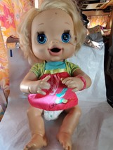 2010 My Baby Alive Doll Dress Blonde Interactive Talks Eats Poops Pees F... - $45.00