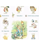 "G47 D, ""The World of Peter Rabbit"", Greeting Stamp, Sticker type, Japan ... - ₹1,424.97 INR"