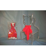 CLEAR LUCITE ACRYLIC CAT FIGURE STAND NICK KNACK REMOTE HOLDER & KITTY P... - $15.00