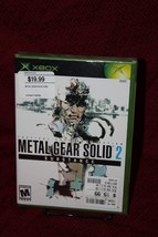 Metal Gear Solid 2: Substance XBox New Sealed Microsoft Konami - $77.39