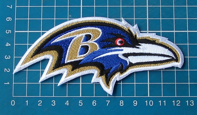 Primary image for Baltimore Ravens Football NFL Superbowl Jersey sew on embroidery patch