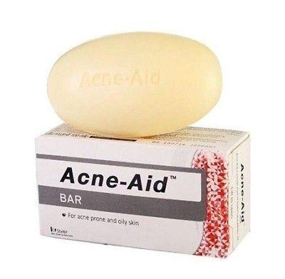 3x100G. STIFEL ACNE-AID SOAP BAR FOR ACNE & OILY SKIN DEEP PORE CLEANSING