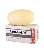 3x100G. STIFEL ACNE-AID SOAP BAR FOR ACNE & OILY SKIN DEEP PORE CLEANSING - $39.89