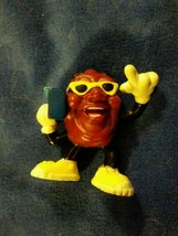 1988 applause California Raisins Figure - boom box radio - $3.75
