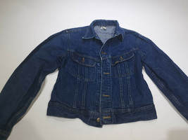 Women's Lee Riders Jean Jacket Size 18 Bin R - $34.00