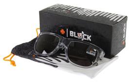 Spy Optic Ken Block Kubrik Men's Sunglasses Clear Black Drips Frame Grey Lenses - $79.02