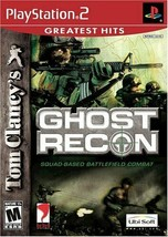Tom Clancy's Ghost Recon (Sony PlayStation 2, 2002) - $8.90
