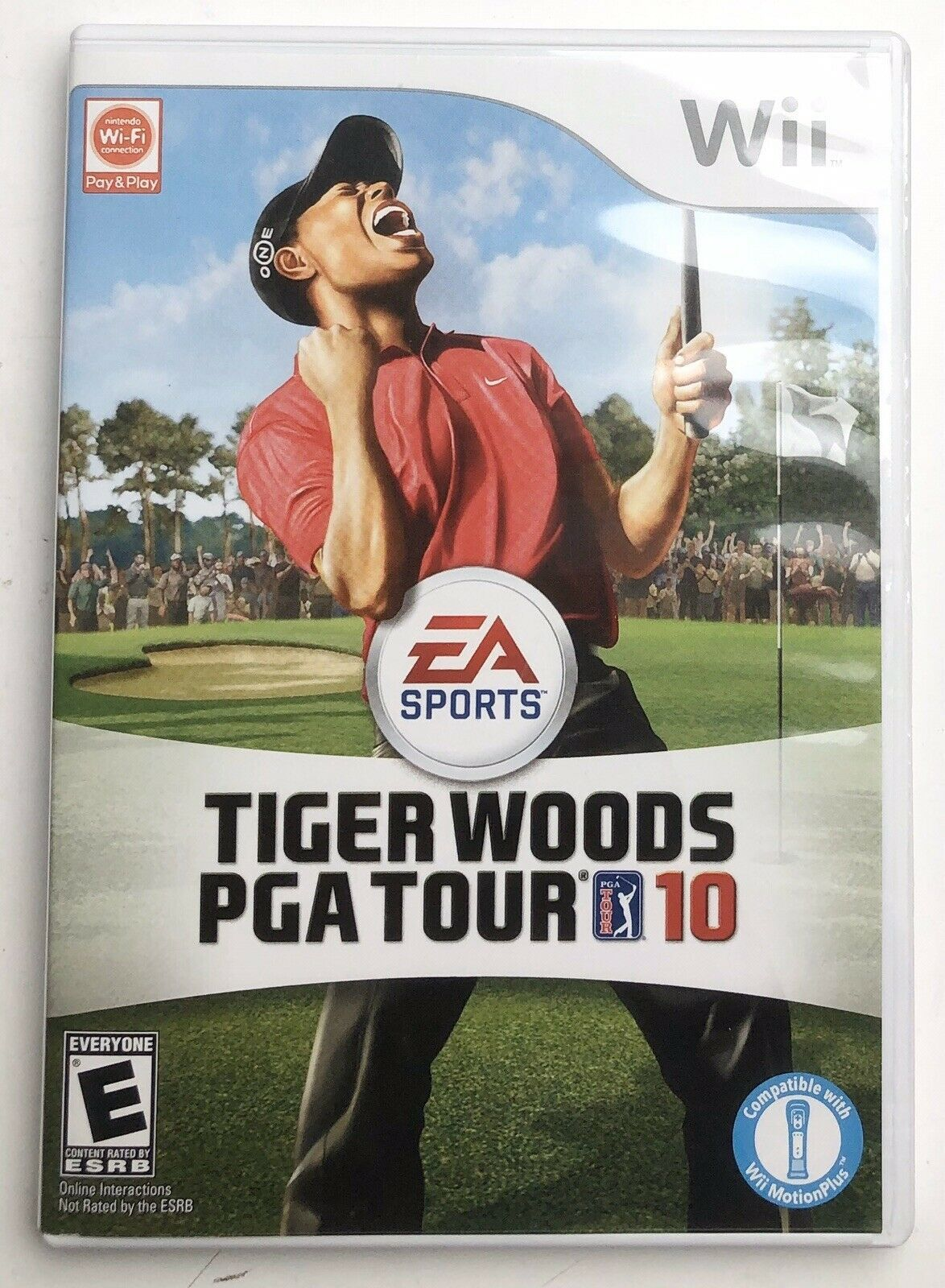 Primary image for Tiger Woods PGA Tour 10 (Nintendo Wii, 2009) Pre-Owned