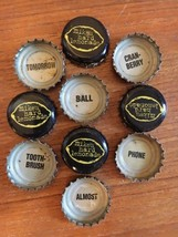Lot Mike's Hard Lemonade Word Bottle Caps/Cap Beer Vtg crafts Words Lett... - $12.16