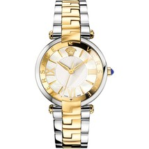 Versace VAI050016 Two Tone Stainless Steel White MOP Ladies Watch - $2,577.84