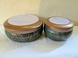 Colonial Candle Scented copper Collection SEAGRASS & PAPYRUS 12 oz & 5.5... - $30.00