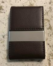 Pocket Businese Card Holder Case PU LEATHER - $6.73