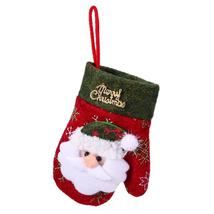 (01)Christmas Cutlery Holder Glove Knife Fork Tableware Bag Xmas Decorat... - $14.00