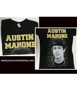 Austin Mahone Women's T-Shirt Photo Lyrics Junior Sz Medium - $8.99