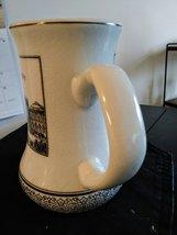 Altenkunstadt  Vintage Porcelain Beer Mug Stein Wilhelmshaven Germany Graphics image 5