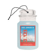 11 new yankee candle classic car jar air freshener see america golden ga... - $22.00