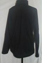 FILA Vintage Fleece Jacket Mens Size Large Track Black Performa Full Zip... - $23.74