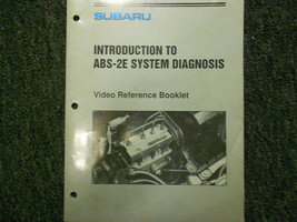 1992 Subaru ABS 2E Introduction Service Repair Shop Manual FACTORY OEM B... - $19.75