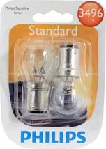 Philips 3496 - 12.8/14V 26.88/8.26W T6 Bulb Automotive Light Bulb - 2pk - $22.00