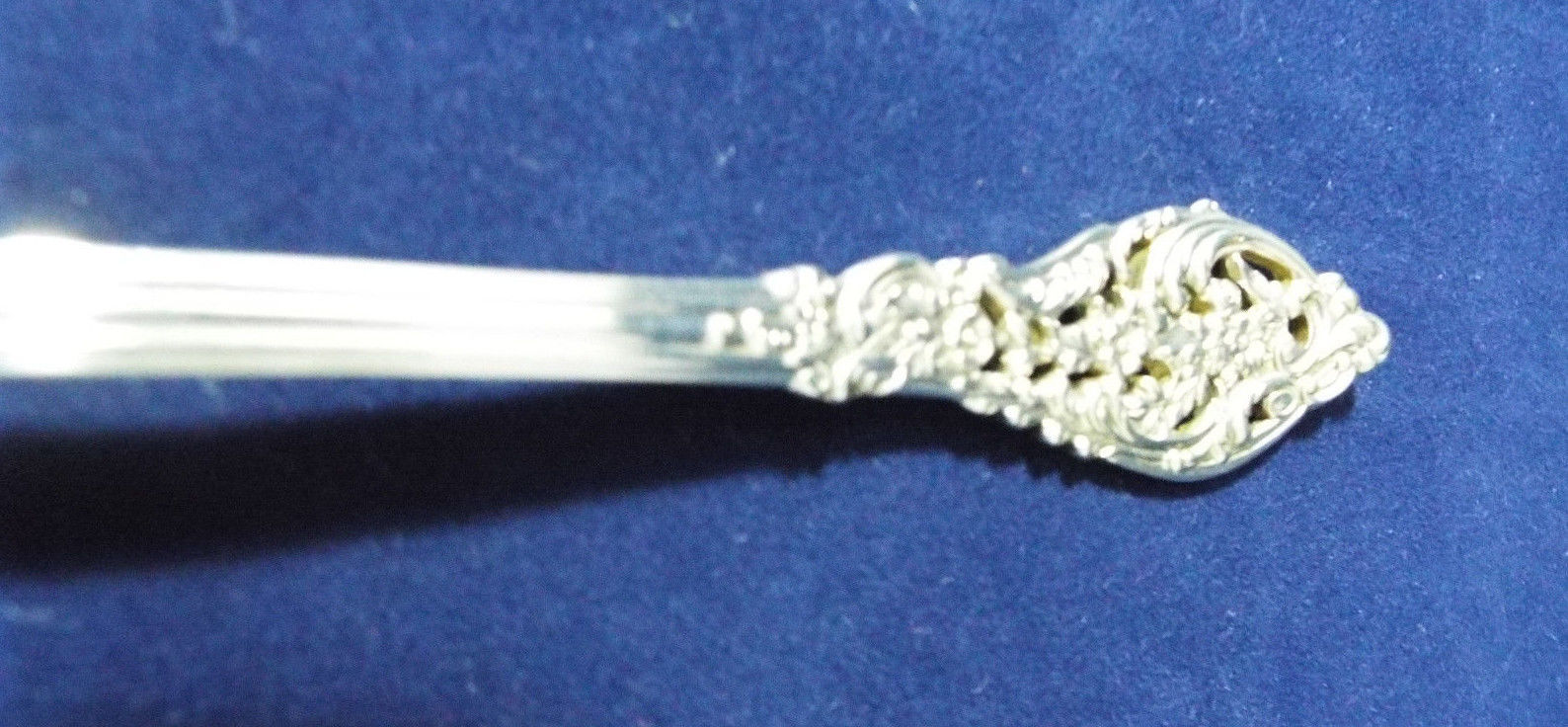 """Eighteenth Century by Reed /& Barton Sterling Spinach Fork Custom-Made 7 1//2/"""""""