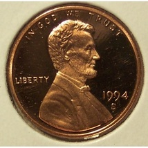 1994-S DCAM Proof Lincoln Penny #0665 - $6.99