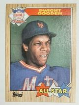 Dwight Gooden 1987 Topps #603 Baseball Card          km - $8.00