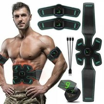 Vibration Fitness Massager Abdominal Muscle Stimulator Toner Home Gym El... - $17.02+