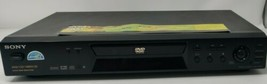 Sony DVP-NS300 CD/DVD Player Tested Working No Remote Free Shipping - $37.99