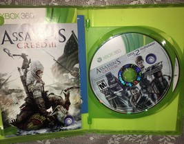 Assassin's Creed III 3 Xbox 360 ==Complete ==Free Shipping== - $8.45