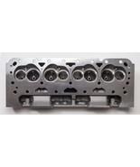 SBC Small Block Chevy Straight Plug Aluminum Cylinder Head Set 64cc 2.02... - $399.99
