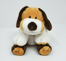 Ty Pluffies 2002 Whiffer The Dog Brown & White Stuffed Animal Plush Toy Lovey - $45.82
