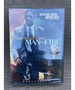 Man on Fire Movie DVD Denzel Washington Dakota Fanning Tony Scott - $12.77