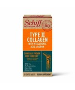 Schiff Type II Collagen, Hyaluronic Acid and Boron Tablets, 30 Count Col... - $26.72