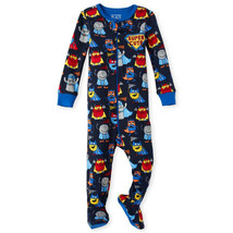 NWT The Childrens Place Boys Super Hero Footed Stretchie Pajamas Sleeper 2 3 4 5 - $8.99