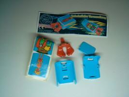 Kinder - 2002 Unheimliche Verwandlung + paper + sticker - surprise egg - $1.50