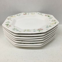 Independence Ironstone Interpace NKT Old Orchard  Dinner Plates Set of ... - $73.52