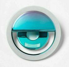 Heyday Universal Cell Phone Selfie Light - Iridescent/Teal image 3