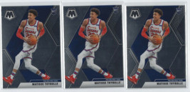 (3) Matisse Thybulle 2019-20 Panini Mosaic Rookie No.245 RC 76ers  - $9.36