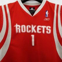 Houston Rockets Red Basketball Jersey #1 Mc Grady *Youth size Large 14-1... - $12.58