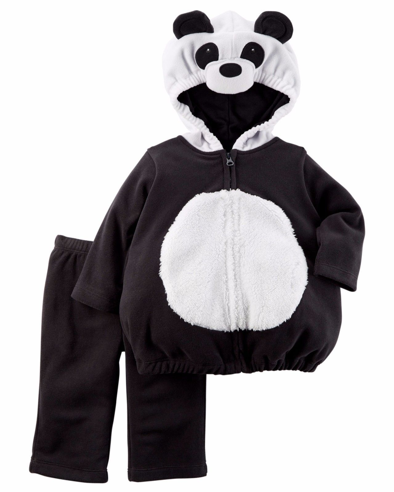 NEW NWT Boys Carter's Halloween Panda Costume 12 or 18 Months 2 Piece