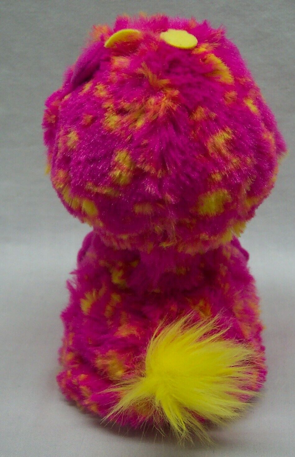 """Hatchimals HATCHED PINK YELLOW GIRAVEN LIGHT UP INTERACTIVE 5"""" Plush ANIMAL Toy"""