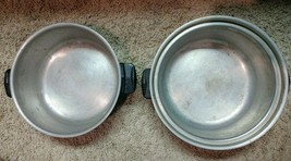 Vintage Wear-Ever Aluminum Cooking Double Pot Pan Dutch Oven -- No. 824 ... - $49.99