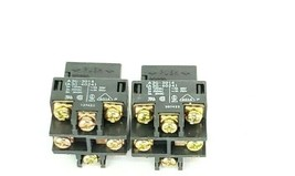 LOT OF 2 NEW OMRON A3G-4024 PUSHBUTTON SOCKETS A3G4024, A3G-3014 image 1