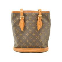LOUIS VUITTON Monogram Bucket PM Shoulder Bag M42238 LV Auth cr191 **Sticky - $180.00