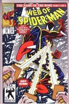 Web of Spider-Man #85 (Feb 1992, Marvel) - F/VF - $1.50