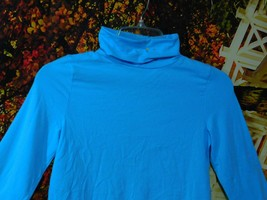 GIRL'S LONG SLEEVE TURTLE NECK TOP BY FADED GLORY / SIZE L (10-12) - $5.00
