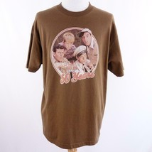 Television City Andy Griffith Show 50 Years Brown Graphic T Shirt Mens S... - $28.93
