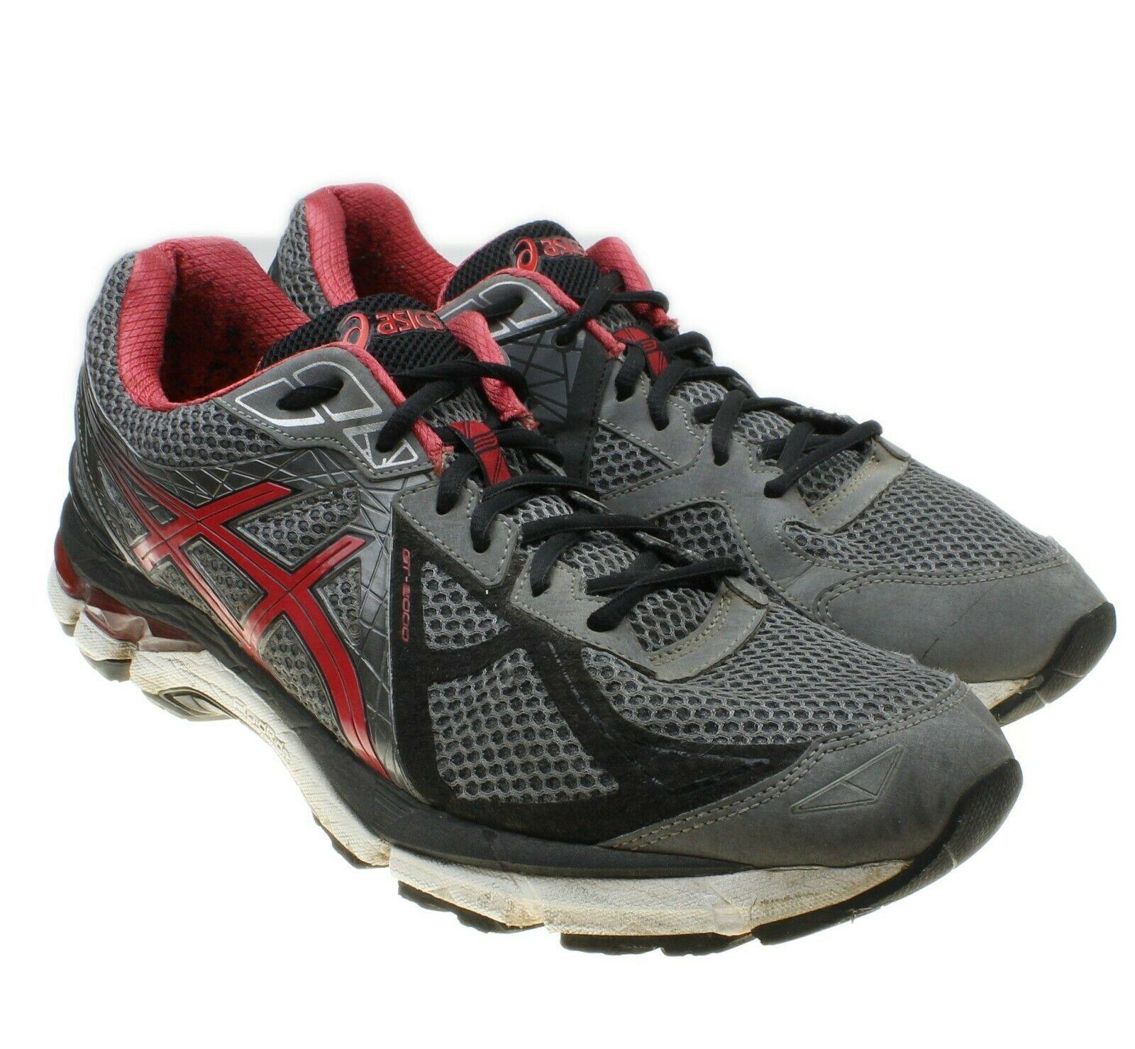 Asics GT 2000 v 3 Gray Mens Size 11.5 EU 46 Running Shoes Sneakers T500N