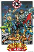 Guardians of the Galaxy Rare Wall Poster 22X34 Marvel Comics Press #118 1992 New - £31.83 GBP